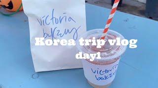 【韓国旅行】2泊3日の韓国ひとり旅行🧁(1日目)