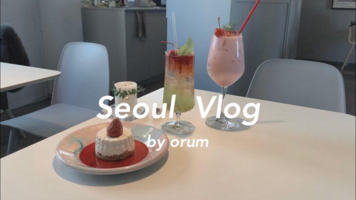 〔vlog〕年越し韓国旅行 #1 / 江南 聖水洞 / カフェ巡り コプチャンを食べる〔ソウル〕