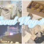 ୨୧韓国旅行1日目୨୧Seoul Vlog#1 ୨୧高速ターミナル/トッポギ食べ放題/靴の卸売り/キョチョンチキン/ハニーコンボ/タイガーシュガー/bhcチキン/プリンクルチーズボール