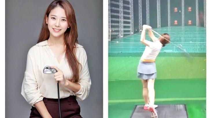 김수현 프로  Kim Su Hyun キム・スヒョン韓国女子プロゴルファーSLOW MOTION SWING SPECIAL!!!