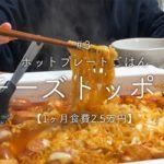 【二人暮らし】ホットプレートでチーズトッポギ【韓国料理】