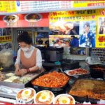【韓国グルメ】今韓国で話題の激安大盛り弁当通り(カップ飯通り)ノリャンジン/ Cupbap Street Noryangjin  korean food 韓国 vlog 韓国旅行 韓国食べログ