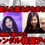 【KPOP】スキャンダルを起こしたKPOP女性アイドルBEST5【韓国アイドル】