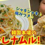 """【激安で美味しい!】無限に食べられるリーサンの""""もやしナムル""""の作り方!~本場の韓国料理~"""