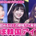 【KPOP】全米も泣いた…歌がうますぎるKPOP女性アイドルBEST5【韓国アイドル】