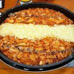 Korean Food Cheese Dakgalbi 韓国料理チーズタッカルビ