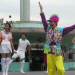 【USJ】NijiUの新曲「FESTA」でダンスを!NO LIMIT TIME~POPのウルトラ・スペシャルバージョン~2021.4.14!出演はMC?、あきおさん、トムさん、クロエさん、ベッカさん。