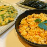 妻と娘にモテたい男が作る簡単韓国料理【ビビンバとチヂミ】