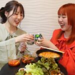 ふくれなと韓国料理を爆食いする
