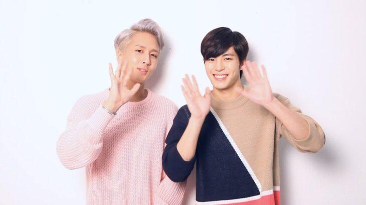 【VIXX】「韓流ぴあ」連載「VIXXのスイッチ」にラビ&ホンビン登場! 仲良しトークをお届け♪