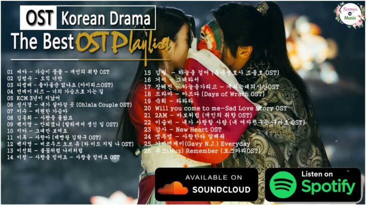 【作業用BGM】韓国ドラマ ost 🍒The 20 Best K-Drama OSTs Of 2021 That We'll Never Forget