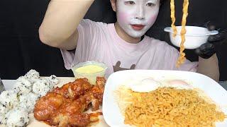 BTS縛りで韓国料理大食いする【ASMR/咀嚼音/大食い/モッパン】