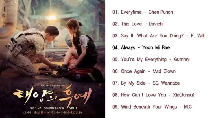 FULL ALBUM Descendants of the Sun OST SoundTrack    韓国ドラマOST 🌸 太陽的後裔