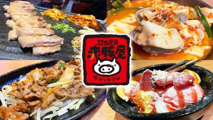赤からの韓国料理専門店が予想を遥かに上回る旨さだった!【赤豚屋 チョッテジヤ/神奈川・川崎】