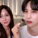 【日韓夫婦】韓国人夫に韓国アイドルメイクしてみた結果……