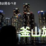【韓国vlog】初めての釜山旅行part3【韓国留学生】